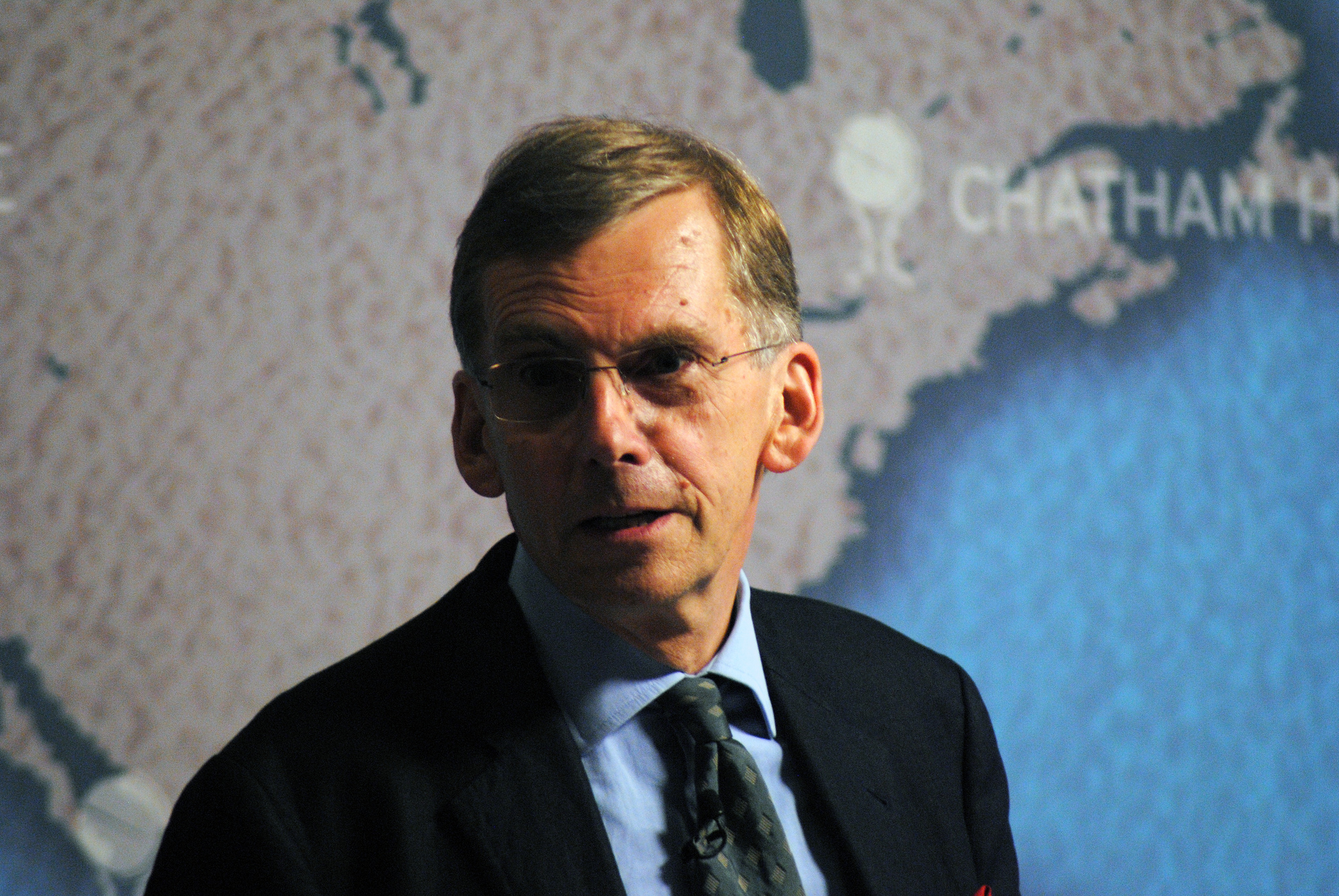 Professor Sir David Omand GCB, talking at Chatham House in September 2013. Photo: Chatham House (CC)