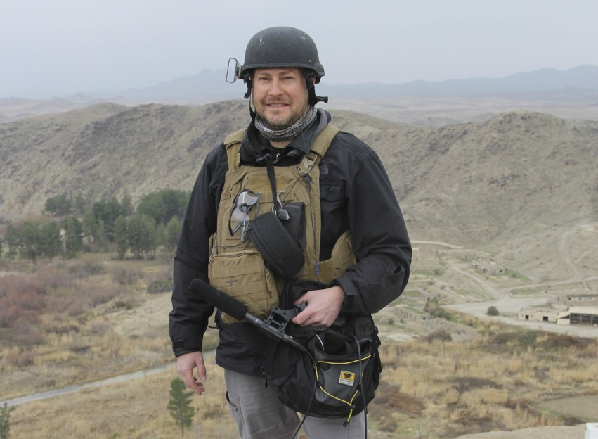 Journalist Sean Carberry shut down NPR's Kabul bureau at the end of 2014 after more than two years reporting in Afghanistan. Photo: Courtesy Sean Carberry