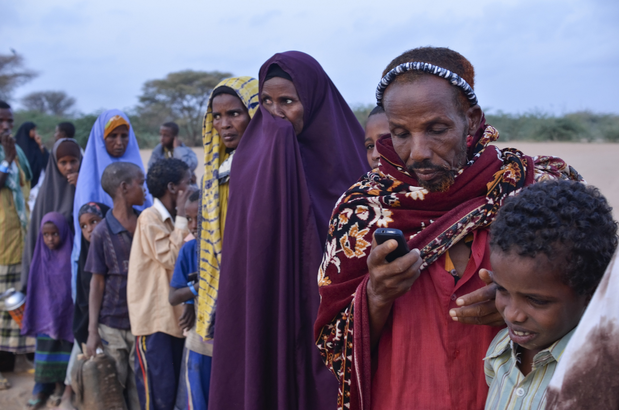 Refugees from Somalia wait to register at Ifo refugee camp in Dadaab, Kenya. Kenya is a member of the EAC, which is on a path to closer integration reminiscent of the one taken by the EU in the lead up to the Schengen agreement. Photo: Internews Europe (CC 2.0)