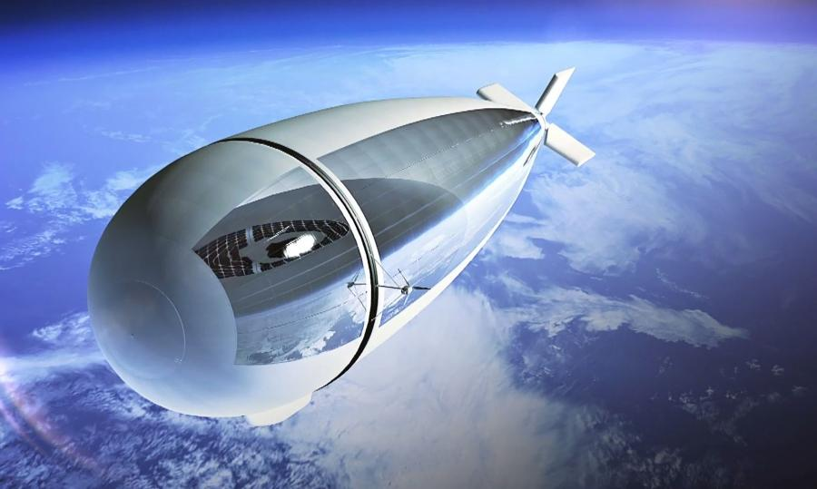 Thales' Stratobus - autonomous stratospheric platform between a drone and a satellite
