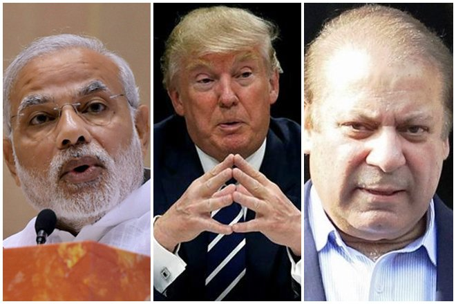 The Indian PM Narendra Narendra Modi, USA President-elect Donald Trump, and Pakistan PM Nawaz Sharif. Much less attention has been given to how Trump would deal with a nuclear South Asia.