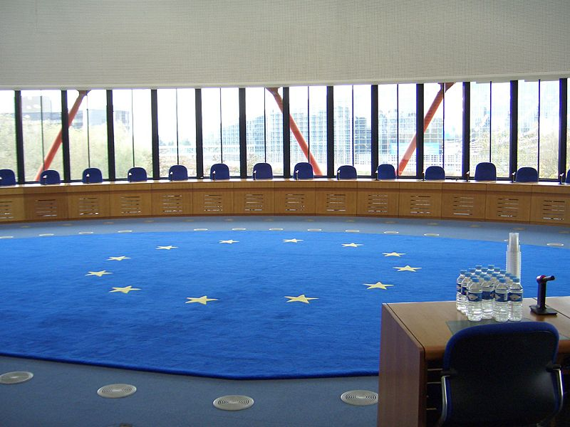 European Court of Human Rights in Strasbourg, France