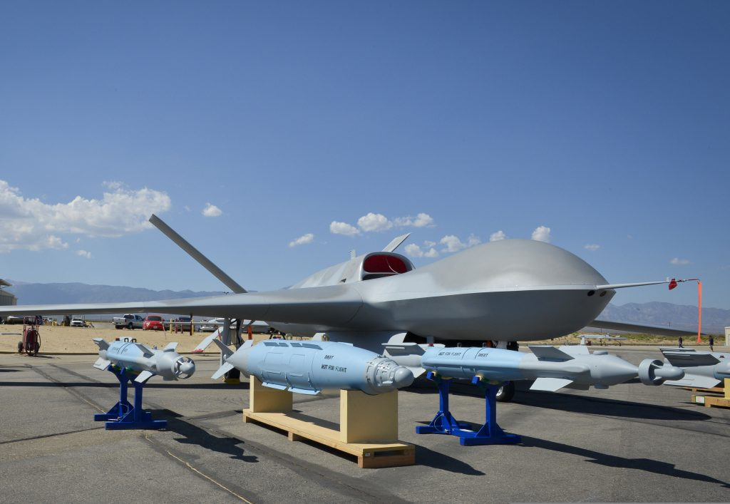 A Predator C Avenger Unmanned Aircraft System (U.S. Navy photo by Mass Communication Specialist 1st Class Peter D. Lawlor/Released)